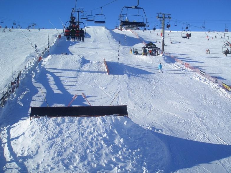 snowpark zona alta, Valgrande-Pajares