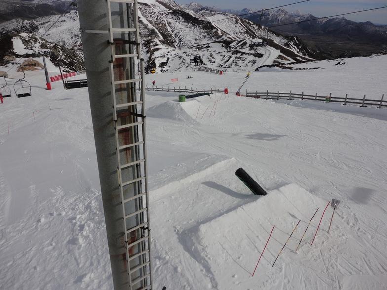 snowpark parte baja, Valgrande-Pajares