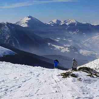 Horizon from Tepsiya run, Brezovica