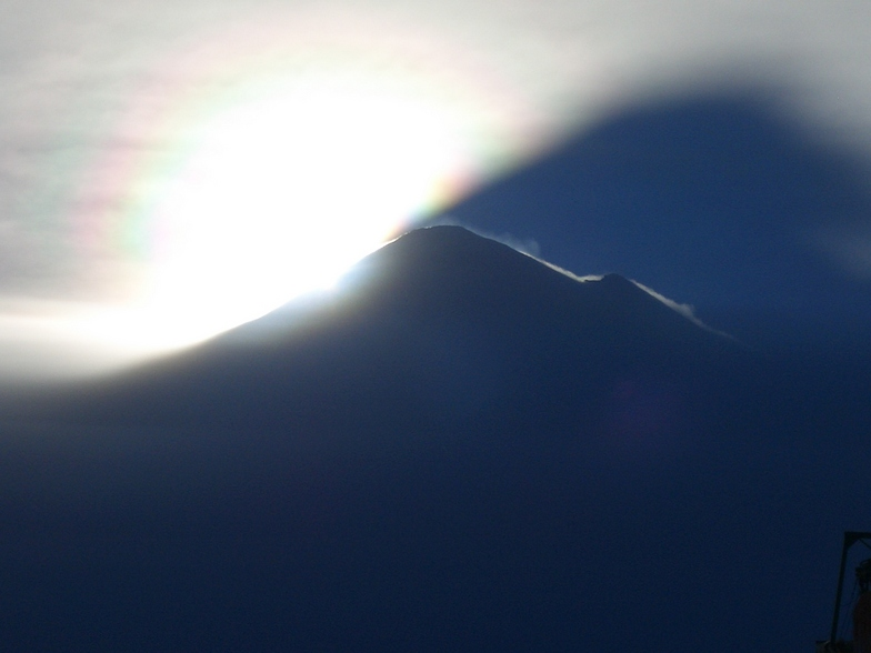 Volcan LLaima Oct 2005 (Chile), Villarrica-Pucon