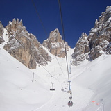 Monte Cristallo accent, Cortina