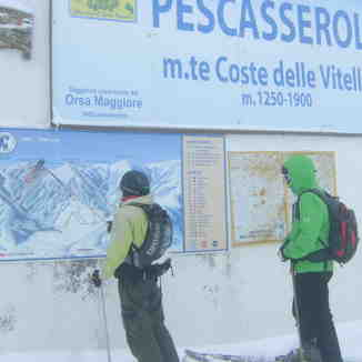 Pescasseroli FREERIDE map