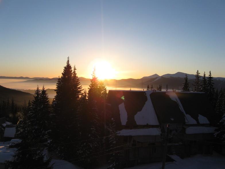 Sunrise in Drahobrat
