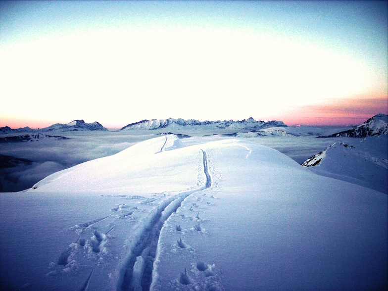 Mer de nuages, Arêches-Beaufort