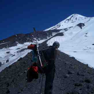 Volcan Lanin Oct 2006 (Chile-Argentina), Chapelco