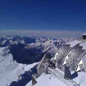 view from 2964m, Garmisch-Partenkirchen-Zugspitze