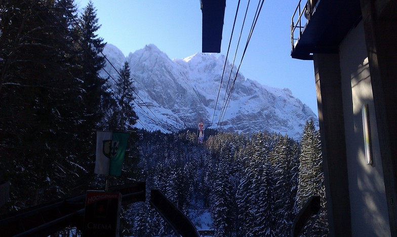 from 998m to 2964, Garmisch-Partenkirchen-Zugspitze