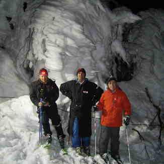 Night skiers, Pilion