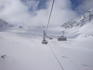 Open and beckoning, Stubai Glacier photo