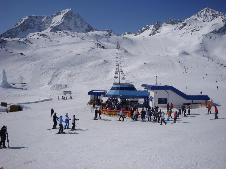 Wide open, Stubai Glacier