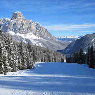 The Boe Run into Corvara., Corvara (Alta Badia)