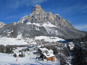 Entering Corvara, Corvara (Alta Badia) photo