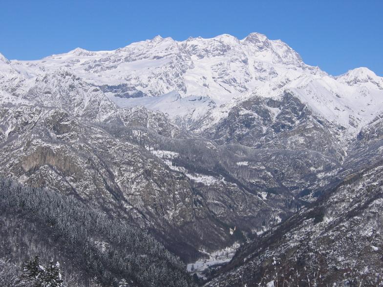 Scopello Alpe di Mera snow