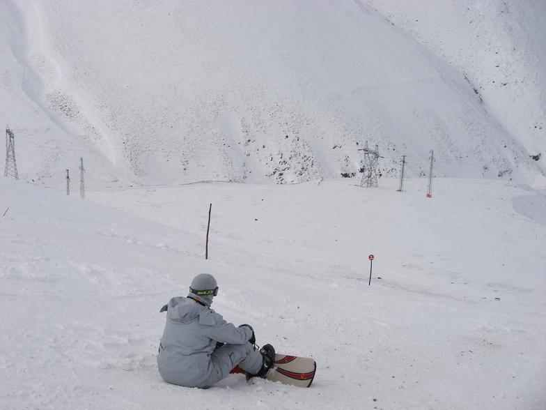 Relaxing view, Mt Palandöken