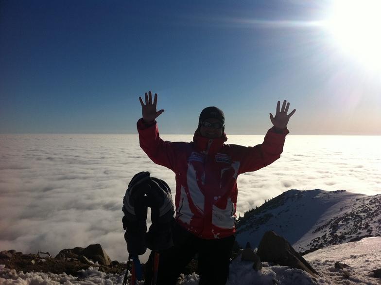 Gurhan Kayahan, Over the clouds, Uludağ