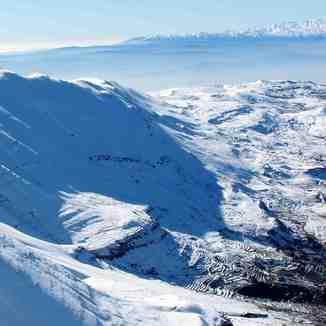 Highest elevation in Kfardebian, Mzaar Ski Resort