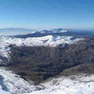 Overlooking the Maten District, Mzaar Ski Resort
