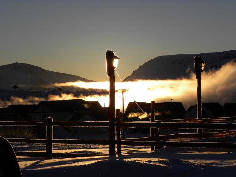 Caviahue snow
