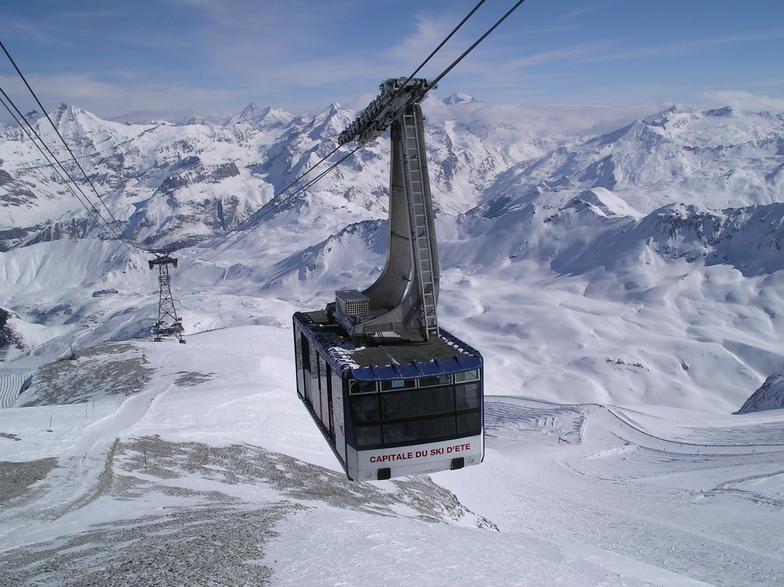 Grande Motte cable car, Tignes