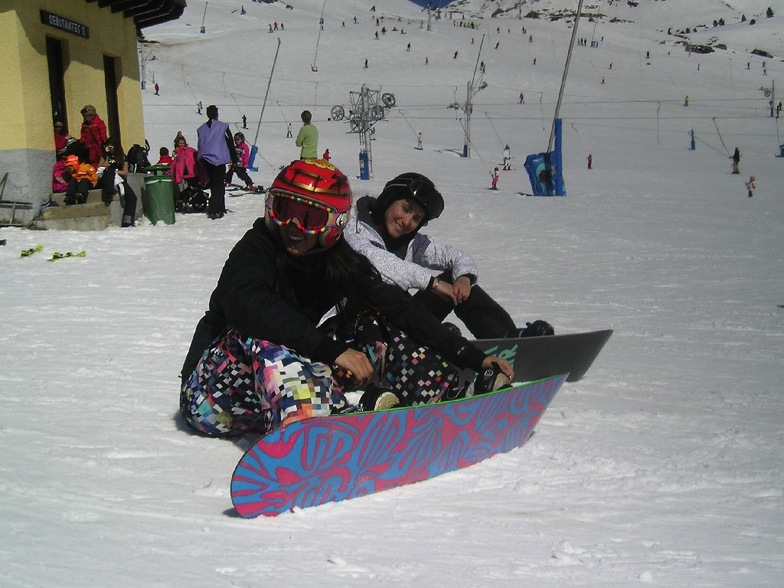 Yas & Marta - Pista Grande, Candanchu