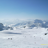 Nothing but blue sky, La Plagne