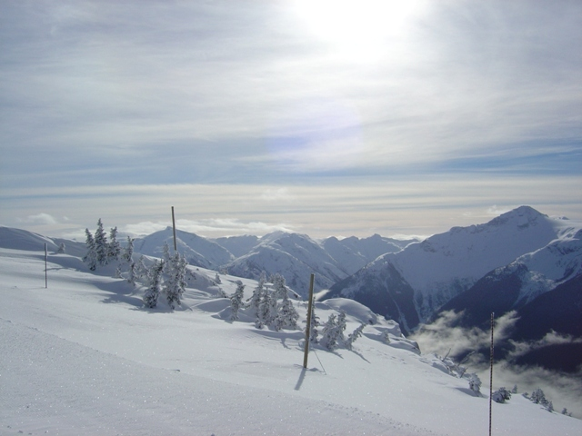 Perfect conditions, Whistler Blackcomb