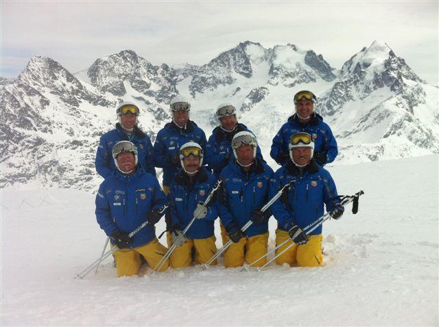 The Davos Oldies 500 Demo team