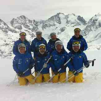 The Davos Oldies 500 Demo team