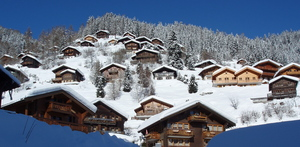 chalets in Grimentz photo