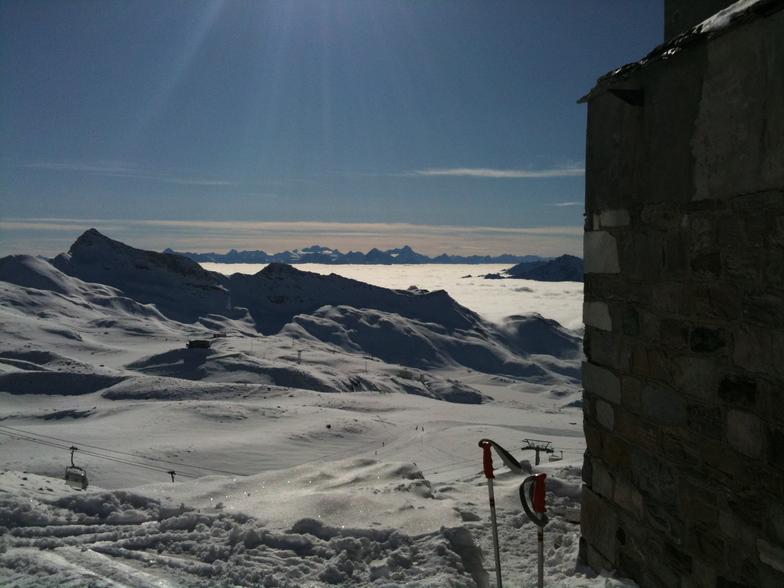 View from Bontadini, Breuil-Cervinia Valtournenche
