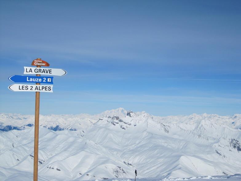 Dôme de Puy Salié (3412 m.), Les Deux Alpes