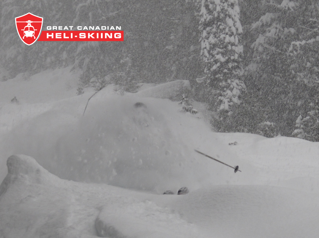 No Faceshoots.....Just OVER The Head Shots!, Great Canadian Heli-Skiing