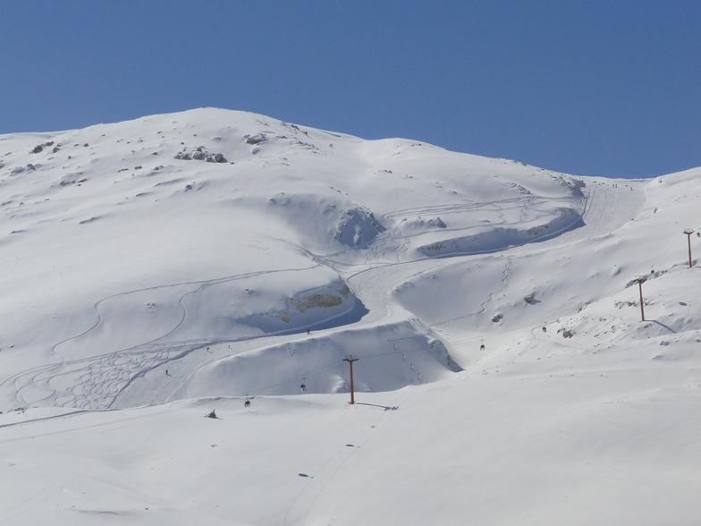 Run-Way From the Top of Piste !, Pooladkaf Ski Resort