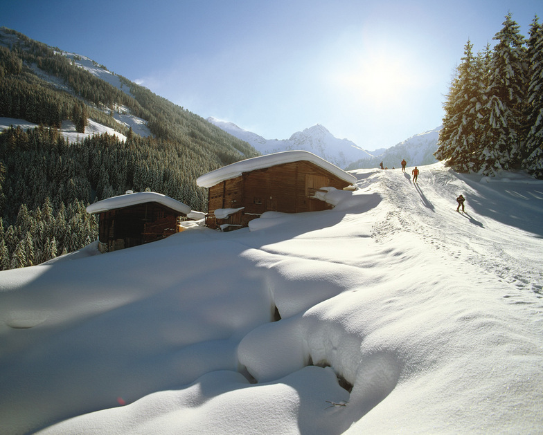 Skiroute 5, Alpbachtal, Tyrol