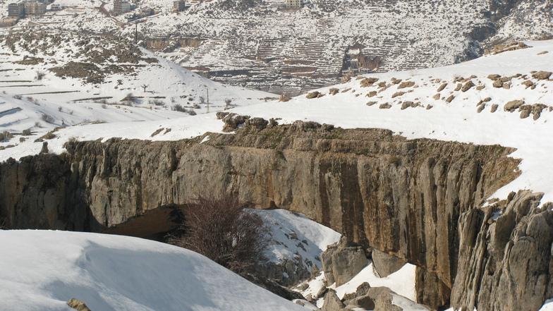 Natural Bridge, Mzaar Ski Resort