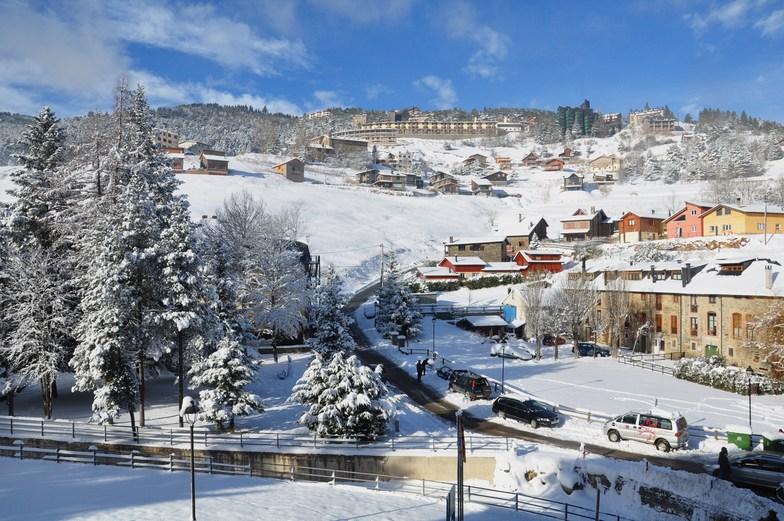 La Molina snow