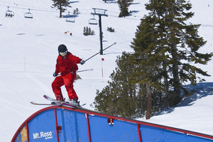 Rail in Lower Badlands, Mt Rose Ski at Tahoe photo