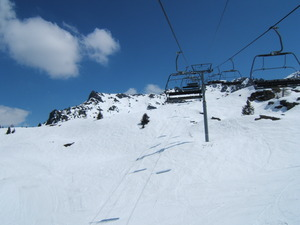 Clocheret Chairlift Les Arcs photo