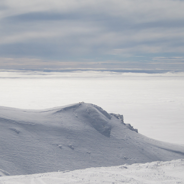 over the clouds, Kalavryta Ski Resort