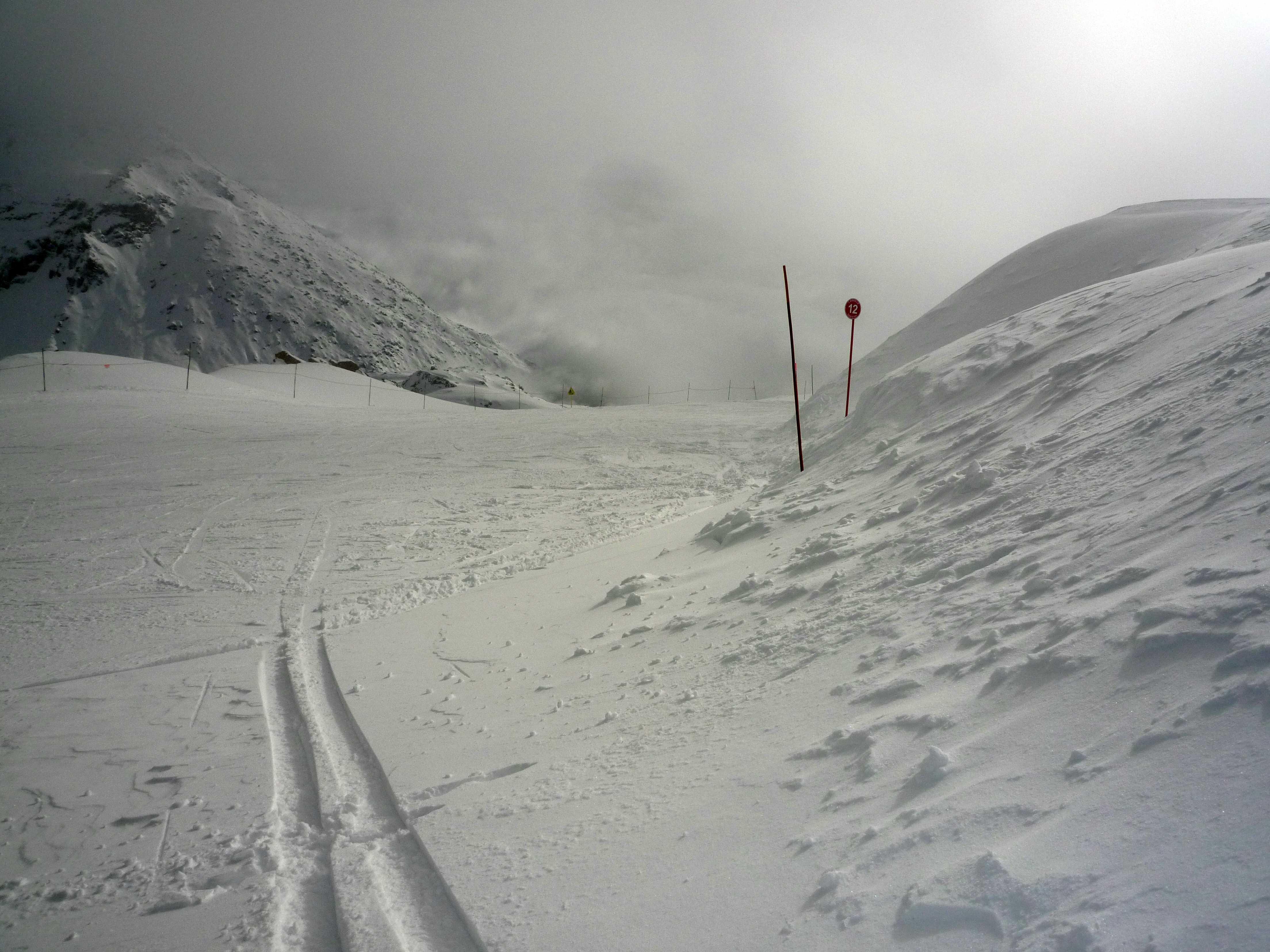 empty pistes, Sainte Foy