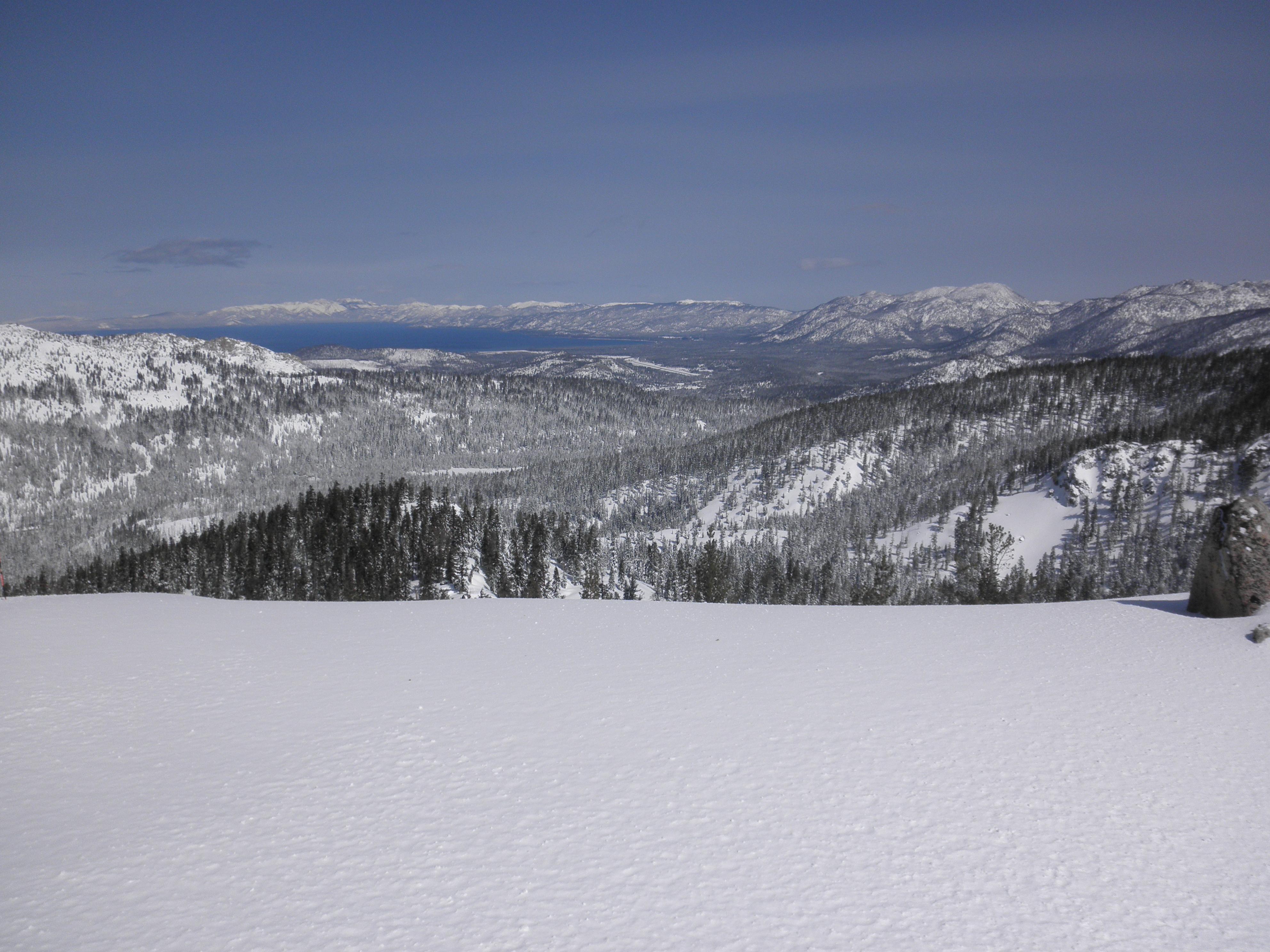 Summit view Lake Tahoe, Sierra at Tahoe
