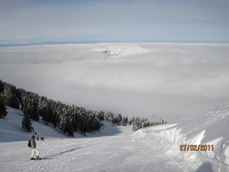 IRINI slope, Kalavryta Ski Resort
