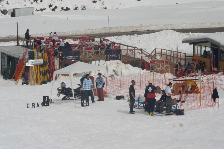 Los Puquios snow