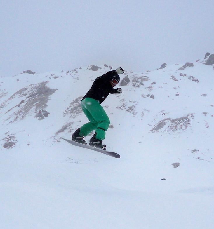 Snowpark in Grimentz