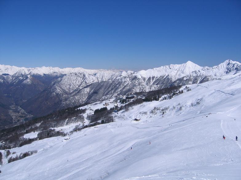 Vista dall'alto, Scopello Alpe di Mera