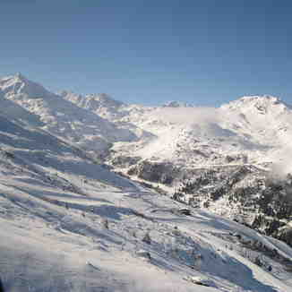 Mont Vallon and Runs into Mottaret