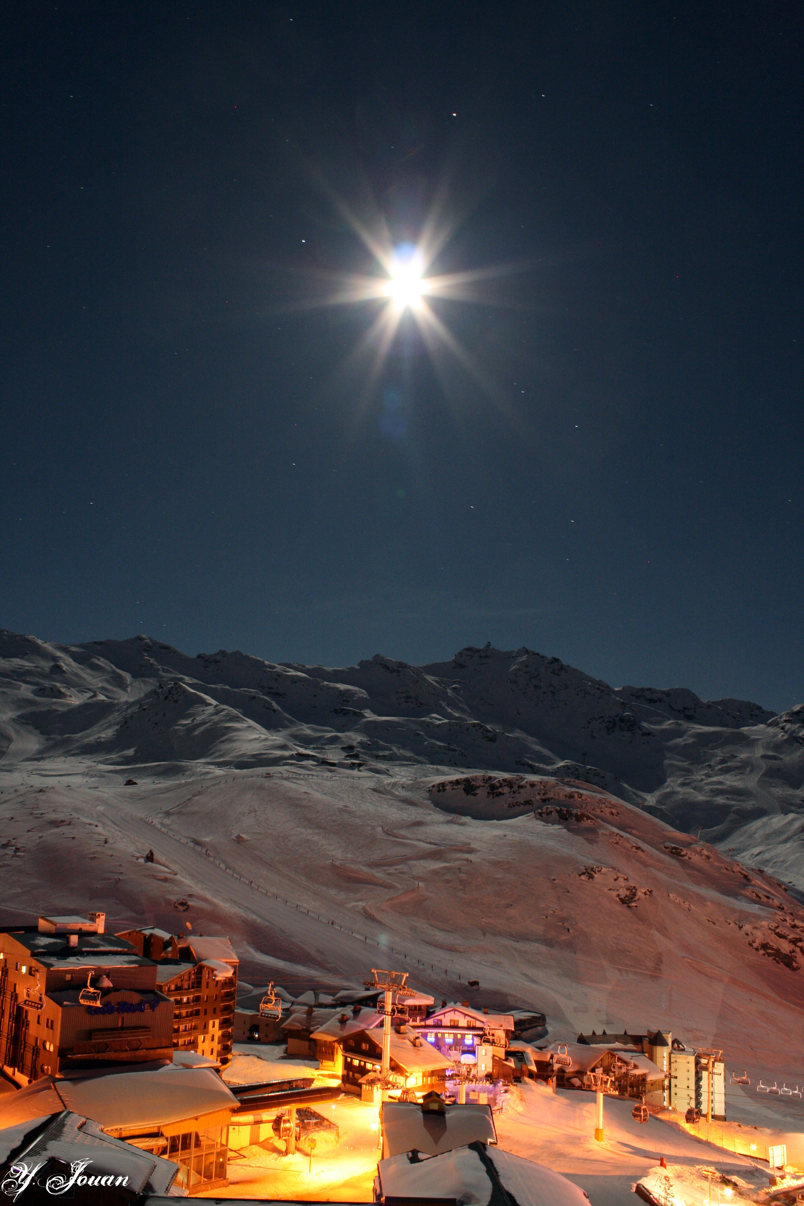 Val Thorens By Night