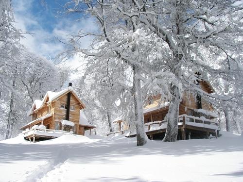 Las Pendientes snow