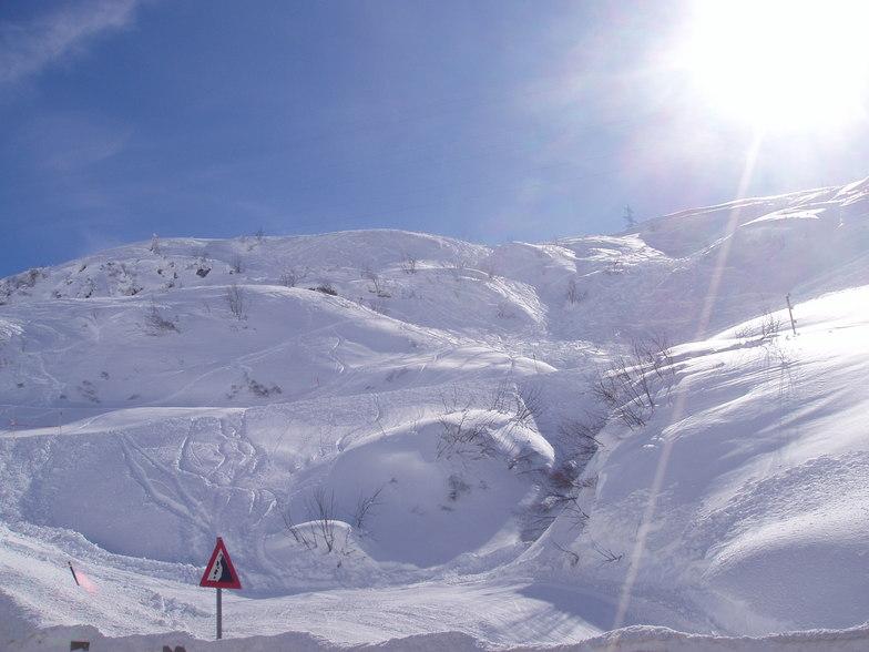fresh snow, Zurs