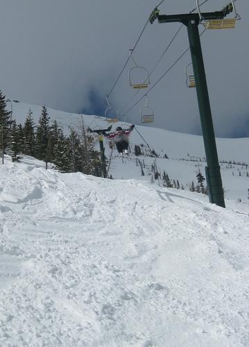 Teton Pass Ski Area Ski Resort by: Adam Meeks